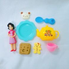Bộ đồ chơi nấu ăn mini dành cho trẻ em, đồ chơi dễ thương dành cho bé gái