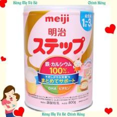 Sữa Meiji / Sữa Meiji nội địa Nhật / Sữa Meiji số 1 – 3, 800g – [HÀNG CHÍNH HÃNG – CÓ TEM PHỤ TIẾNG VIỆT] – Giúp tăng cân và tăng chiều cao tốt – Hàm lượng canxi và DHA cao – Hỗ trợ hệ tiêu hóa và miễn dịch – Giàu vitamin