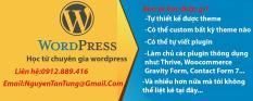 Khóa học làm theme và plugin wordpress