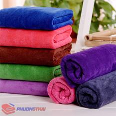 Khăn spa, khăn gội đầu – nhiều màu lựa chọn
