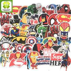 Bộ 50 miếng Sticker hình dán Avenger – Set A
