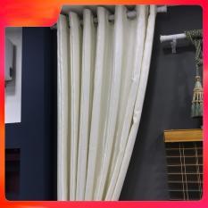 [ SIÊU SALE ] Rèm, Màn Cửa Cao Cấp Vải Gấm Cản Sáng Ilakaka Ngang 200cm cAO TÙY CHỌN – Màu Trắng Kem ilakaka curtains dùng làm màn cửa chính, màn cửa sổ, màn cửa phòng khách, màn rèm cửa, màn ngăn phòng…