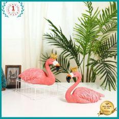 Tượng hồng hạc trang trí nhà cửa decor Size kích thước Lớn 25.22.15cm Kam kết đóng gói cẩn thận không bể vỡ Maitoshi