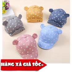 [XẢ HÀNG] Mũ cho bé tai thỏ che nắng cho bé mùa hè xinh xắn