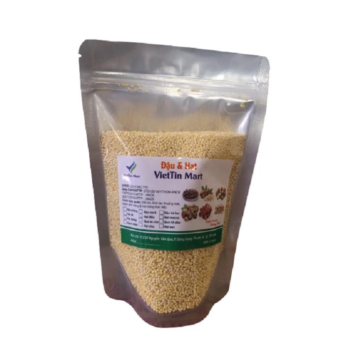 Hạt kê vàng hữu cơ đã bóc vỏ – 500g- Viettin mart