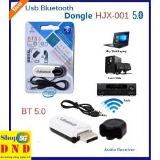 USB bluetooth Dongle HJX-001 thế hệ mới lên đời 5.0 chính hãng, dùng cho các thiết bị âm thanh không có bluetooth, hư hỏng bluetooth.