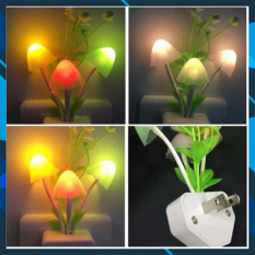 [HÀNG MỚI VỀ] Đèn ngủ hình nấm mẫu mới nhiều màu sắc,tự động sáng lên khi tắt đèn-Đèn cảm ứng ánh sáng