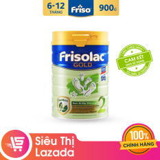 Sữa Bột Friso Gold 2 900g cho trẻ từ 6-12 tháng – Cam kết HSD ít nhất 10 tháng – Tốt cho tiêu hóa & đề kháng tốt, giúp bé khỏe mạnh từ bên trong, thỏa sức khám phá để phát triển toàn diện