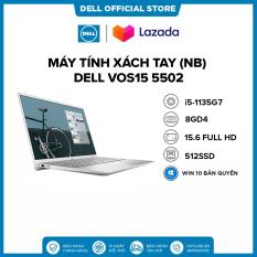 [TRẢ GÓP 0%_FREESHIP]Laptop DELL VOS15 5502 i5-1135G7 Ram 8GD4 512G SSD 15.6FHD Win 10 Bản Quyền / VGA 2GD5_MX330/XÁM(NT0X01)