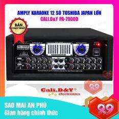 Amply Sân Khấu Karaoke Hội Thảo Gia Đình Cali.D&Y PRO-7900D ( Tặng USB Bluetooth + 2 Chống lăn Micro )