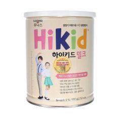 Sữa Hikid Hàn Quốc tăng chiều cao cho bé từ 1 đến 10 tuổi trọng lượng 600g Premium phát triển chiều cao cho bé thừa cân