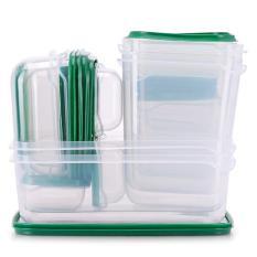 Bộ 17 hộp nhựa đựng thực phẩm Kachi MK133 – Giao mẫu nhiên (Bộ tròn/vuông)