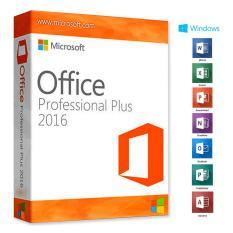 Cài Office 2016 professional hỗ trợ cài đặt từ xa + DVD và sách hướng dẫn cài đặt