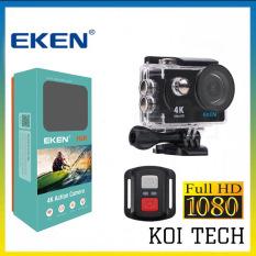 Camera hành trình 4k Eken H9r bản mới V8 nâng cấp 20MP – camera wifi ip xe máy oto phượt chống nước chống sốc – camera hành trình phượt mini