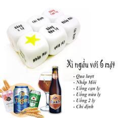 [ xả kho ] xí ngầu uống bia , xí ngầu ăn nhậu , xúc xắc ăn nhậu , nhựa cao cấp bóng hột to nặng