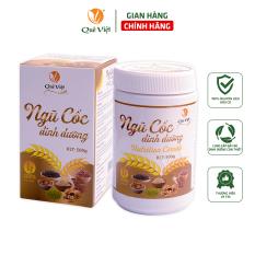 Ngũ cốc dinh dưỡng Quê Việt hộp 500gr – 100% nguyên liệu hữu cơ – Cung cấp vitamin và dinh dưỡng cần thiết, tăng cân, lợi sữa, đẹp da, tốt cho sức khỏe, tăng, giảm cân