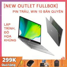 (NEW OUTLET FULLBOX) Acer Swift 3 2020 (SF314-42), Làm Thiết Kế, Lập Trình Khủng, Ryzen R5-4500U, RAM 8G, SSD NVMe 512G, VGA AMD Vega 6, Win 10 Bản Quyền, Pin Trâu