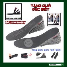 Lót giày tăng chiều cao 3cm-5cm-7cm-9cm tự cắt size
