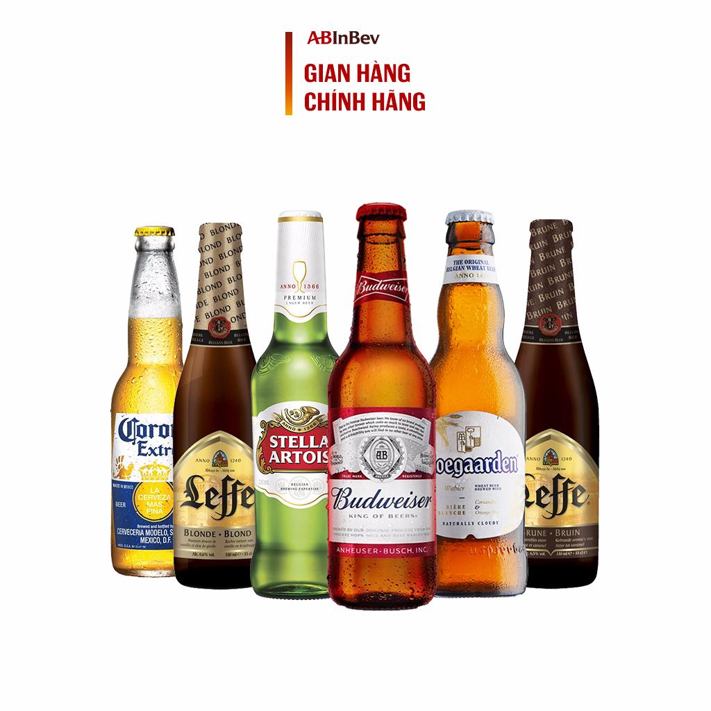 Beers of the world – Bộ sưu tập 6 chai bia Bỉ (330ml/chai)