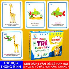 Bộ Thẻ Học Flashcard Giúp Bé Phát Triển Ngôn Ngữ Và Giao Tiếp Benrikids