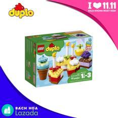 Bữa Tiệc Sinh Nhật Đầu Tiên LEGO DUPLO – 10862 (41 chi tiết)
