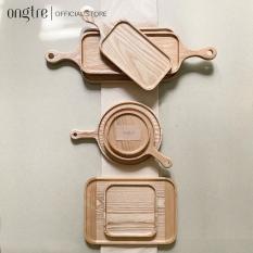 Khay gỗ Tần Bì nguyên khối hình tròn, chữ nhật, vuông… Nhiều kích thước (Hàng VN)   ongtre® (Vietnam)