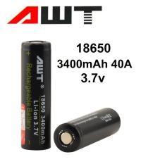 Pin vape LI-ON 18650 AWT Chất lượng cao dùng cho vape, tông đơ cắt tóc, quạt điện