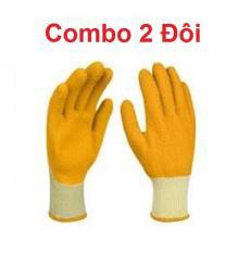 Găng tay bảo hộ cao su INGCO HGVL04-XL (Combo 2 đôi)