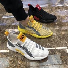 Giày nam. giày sneaker nam Chất liệu tổng hợp, êm mềm, đặc biệt có lỗ thoáng khí giúp bàn chân không bị bí