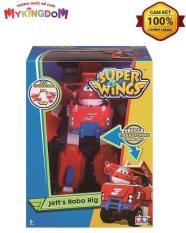 Robot Biến Hình Kết Hợp Xe Cứu Hộ Nhỏ – Jett Tia Chớp Superwings YW720311