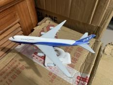 Mô hình máy bay Boeing 747 18cm có bánh xe