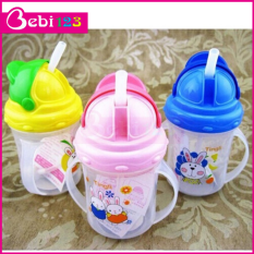 Bình uống nước có vòi hút chống sặc cho bé