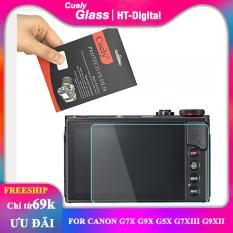[HCM]Miếng dán màn hình cường lực cho máy ảnh Canon G7X G9X G5X G7XIII G9XII
