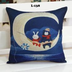 Vỏ gối tựa lưng sofa 45×45 L138 SGCUSHION – vải Linen