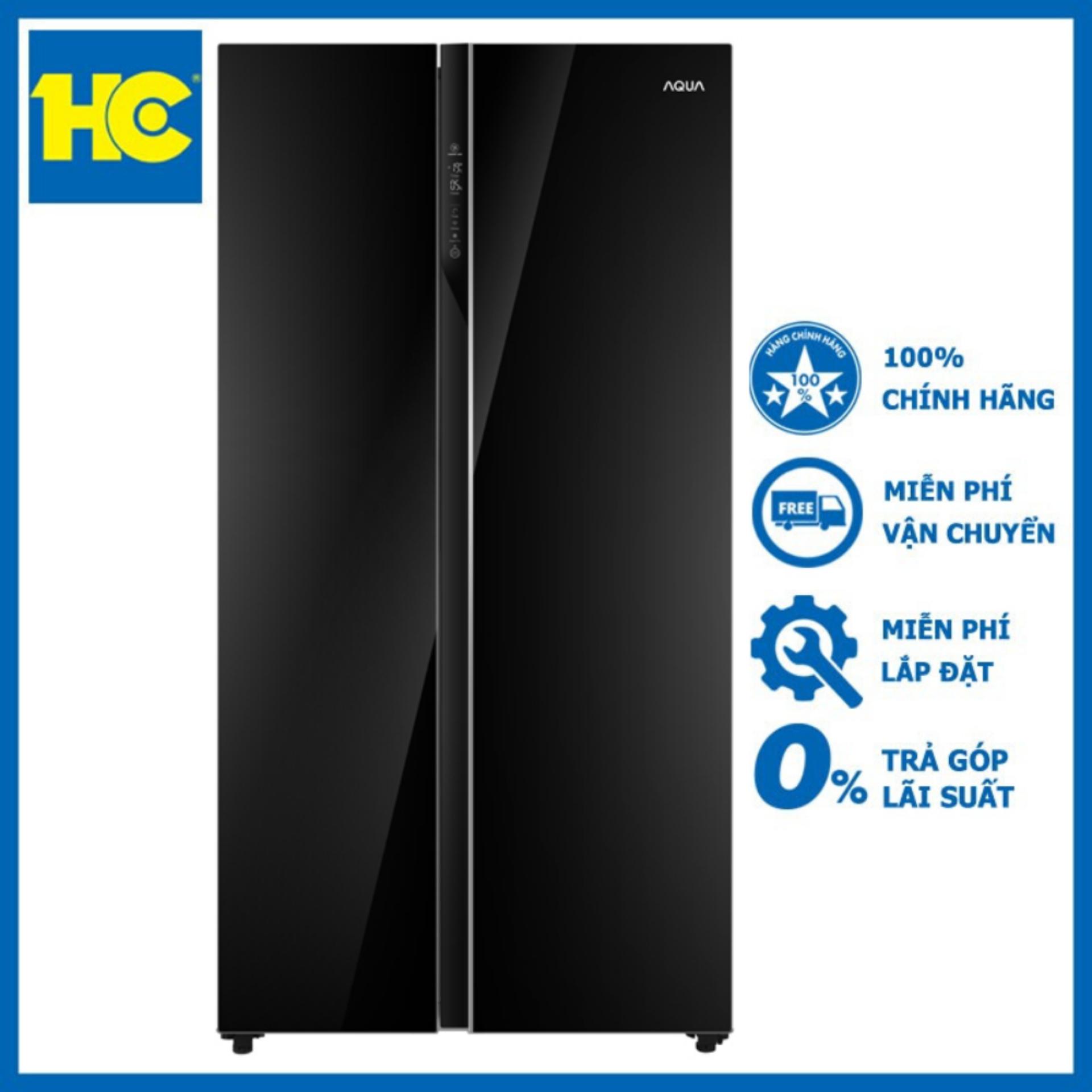 Tủ lạnh Aqua Inverter 576 lít AQR-IG696FS(GB) – Miễn phí vận chuyển & lắp đặt – Bảo hành chính hãng