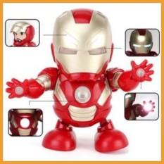 Robot Dancing Iron Man Tự nhảy, Bumblebee Dance Hero-Robot nhảy múa vui nhộn cho bé yêu