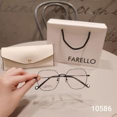 Gọng kính cận thời trang Gọng kim loại 10586