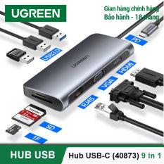 [BH 24 tháng 1 đổi 1] Bộ chuyển đổi đa năng cho MacBook, Laptop, các thiết bị máy tính điện thoại hỗ trợ USB type C truyền âm thanh hình ảnh UGREEN 40873 50538 50539 70411 50209 50319 50516 50771 60557 50990 50989 50210