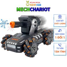 Xe Tăng Điều Khiển Từ Xa Bằng Cử Chỉ Tay Và Remote Mech Chariot, xoay 360 độ, Bắn Bom Nước