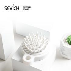 Lược gội đầu mềm SEVICH hỗ trợ mát xa kinh tuyến đỉnh đầu – intl