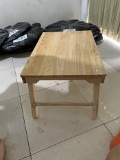 Bàn gấp mini đa năng gỗ tự nhiên – kích thước 40x60x28 cm – Bàn học – Bàn uống trà