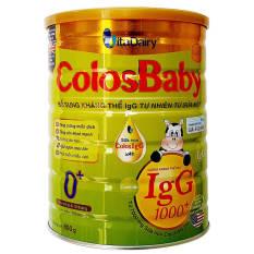 Sữa Non ColosBaby Gold 1000IgG 0+ 800g