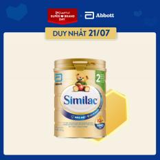 [Siêu thị Lazada] Sữa bột Similac Eye-Q 2 HMO 900g Gold Label cho bé 6 – 12 tháng cung cấp nguồn dinh dưỡng đầy đủ cho bé phát triển toàn diện