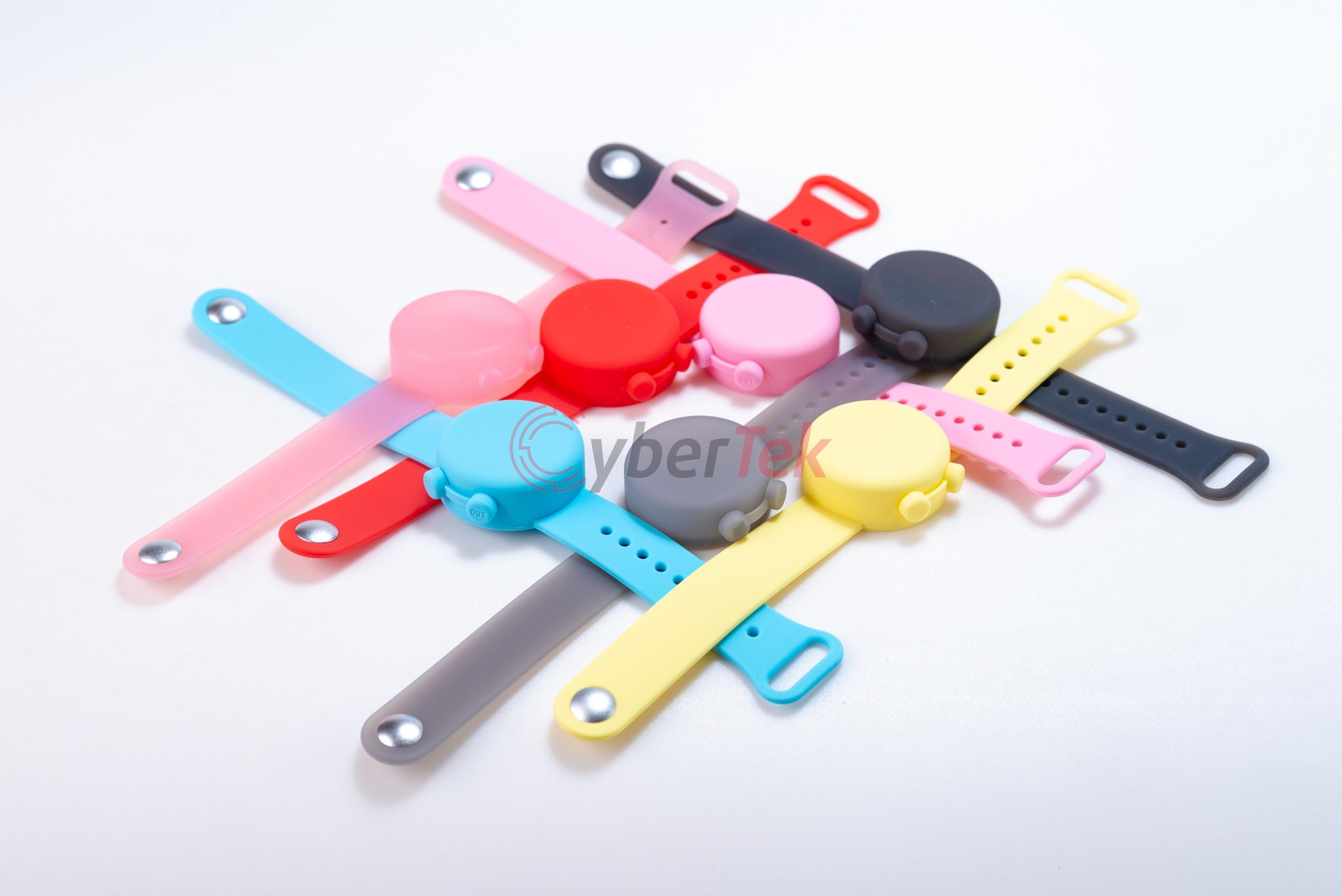 Vòng đeo tay Silicon chứa Gel dung dịch cồn sát khuẩn đạt chuẩn BSCI, CE, RoHS thuận tiện mọi lúc,...