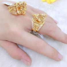 Nhẫn Nam Phong Thủy Kỳ Lân Mạ Vàng ( Mẫu UH 0050(1).20.09 ) – Mang Nhìn Rất Mạnh Mẽ – Phong Thủy – Tubi Cony – trang sức nam – nhẫn nam