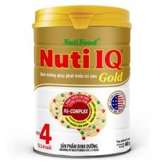Sữa Nuti IQ Gold Step 4 900g (cho trẻ 2 tuổi trở lên) – HSD luôn mới