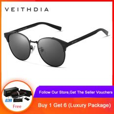 COD+Free Shipping Unisex Retro Aluminum Polarized Vintage Eyewear Accessories Sunglasses for Men/Women 6109