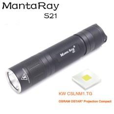 Đèn pin Manta Ray S21 21700 osram KW CSLNM1.TG – [D18] Chưa gồm pin