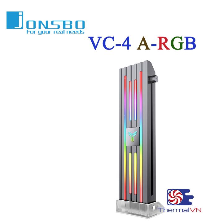Giá đỡ VGA led Jonsbo VC-4 ARGB – Hiệu ứng đèn Addressable RGB rực rỡ