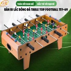 CỠ LỚN – Đồ Chơi Bàn Bóng Đá Bi Lắc Trẻ Em Chính Hãng – Bàn Bóng Đá Table Top Foosball (Gỗ) CHÍNH HÃNG GUROSS – 6 Hàng Cầu Thủ
